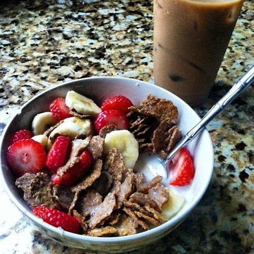 завтрак спортсмена