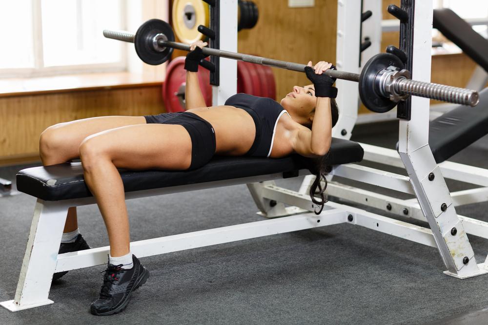 статические упражнения жим