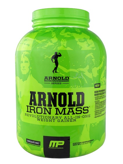 MusclePharm Arnold Iron Mass банка