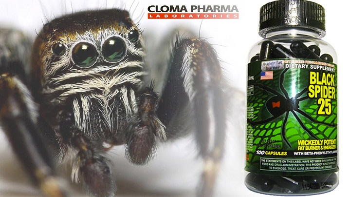 Black Spider 25 Ephedra от компании Cloma Pharma