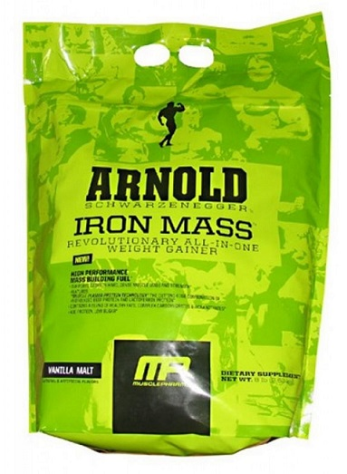 MusclePharm Arnold Iron Mass мешок